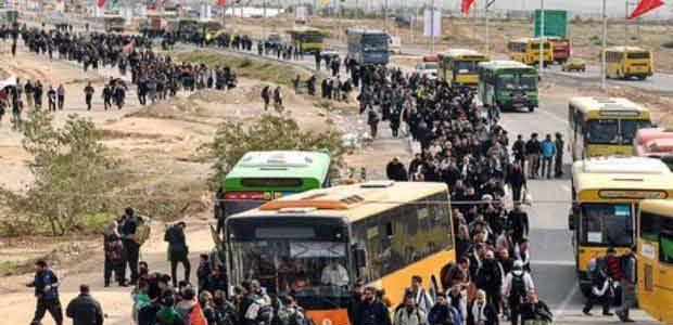 هزینه سفر به کربلا با اتوبوس