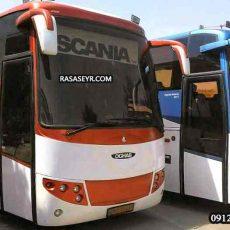قیمت اجاره اتوبوس برای بهشت زهرا